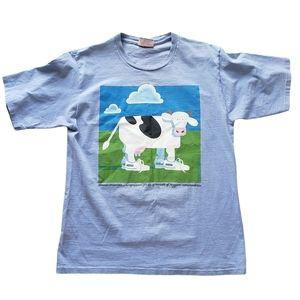 Vintage Cows Icecream T-Shirt P.E.I